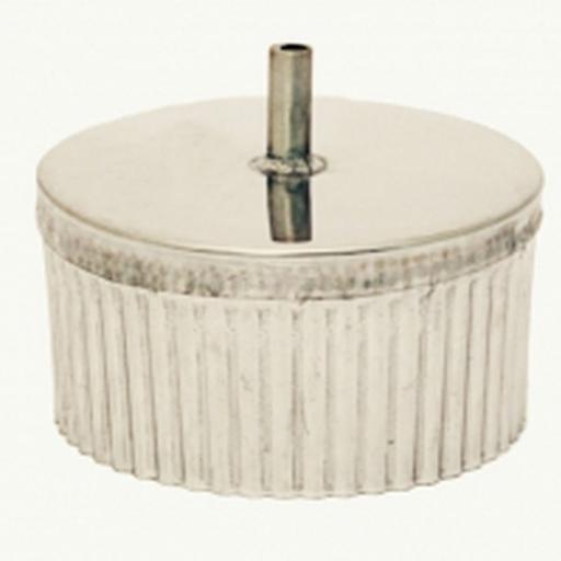 Заглушка с конденсатоотводом D 150