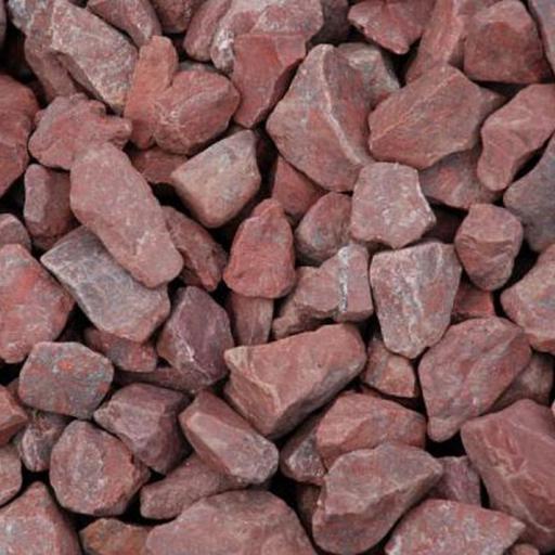 Камень Малиновый кварцит колотый